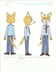Fox - Early Concept Art