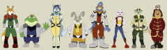 Western-Style Star Fox Lineup