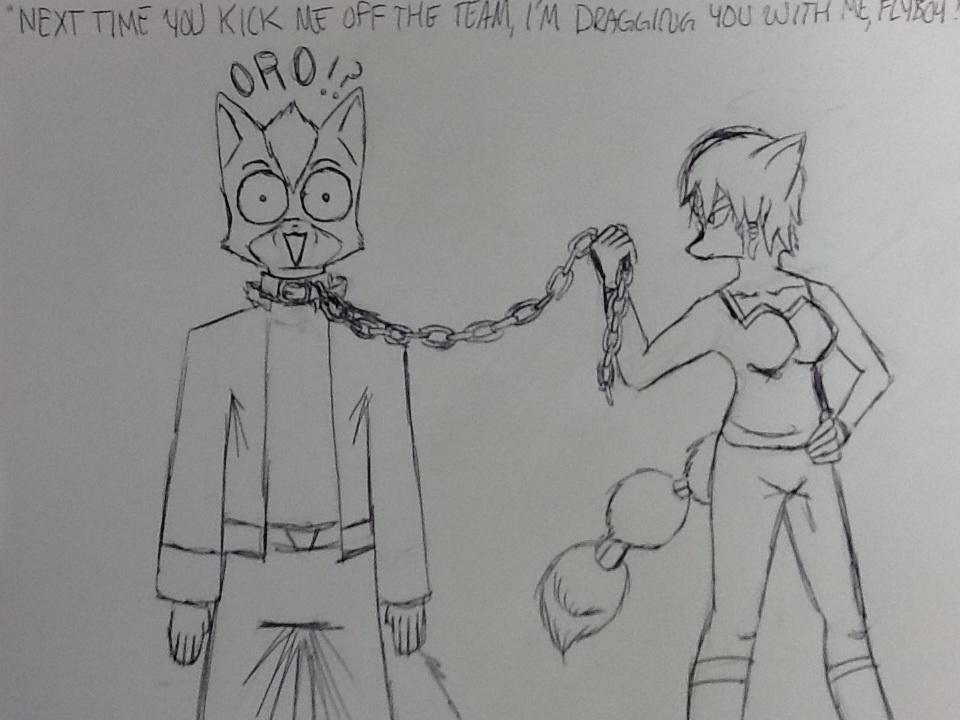 """SF Gag: """"ORO!?"""""""
