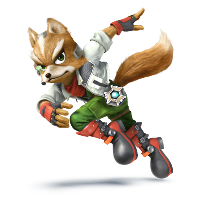 Fox Art Render