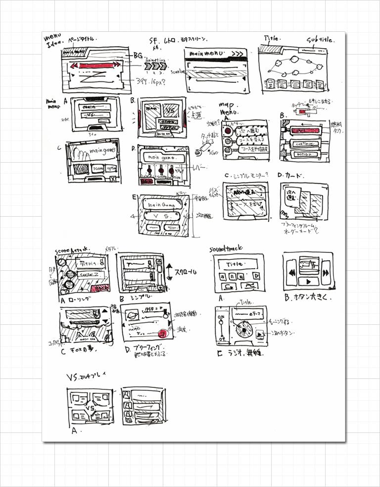 Menu Storyboard