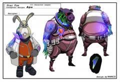 Aparoid Pigma and Peppy